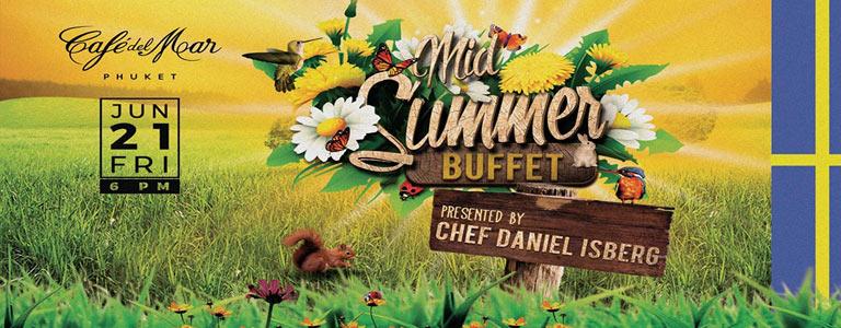 Scandinavian Midsummer Buffet presented by Chef Daniel Isberg