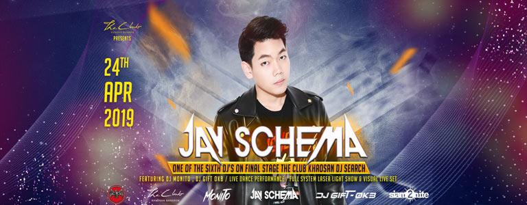 Jay Schema at The Club Khaosan