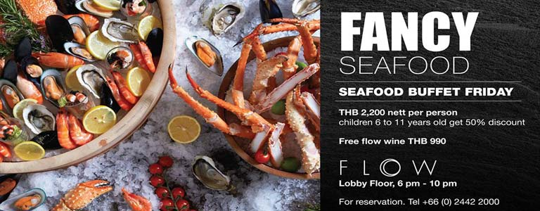 Seafood Buffet at FLOW
