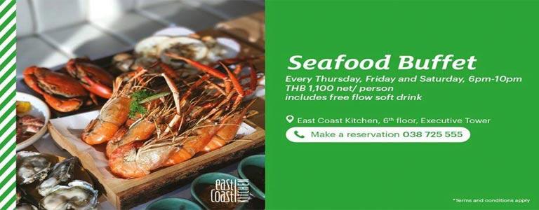 Seafood BBQ Buffet at Holiday Inn Pattaya