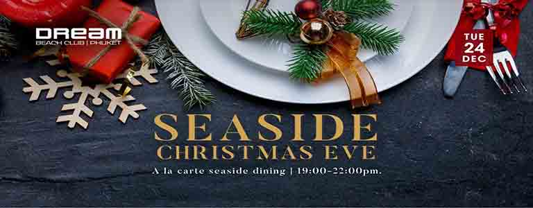 Seaside Christmas Eve at Dream Beach Club