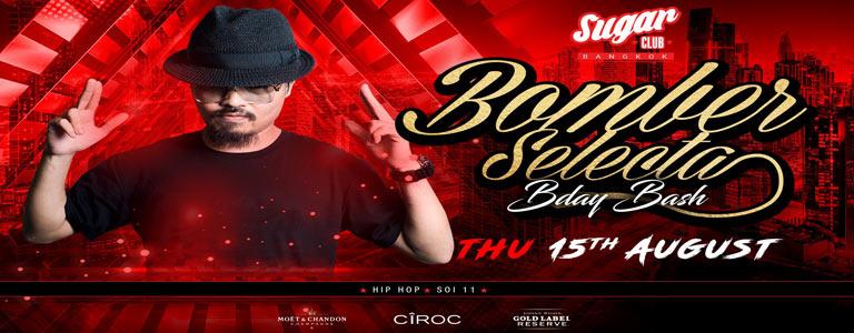Sugar Bangkok Invites: Bomber Selecta