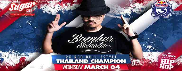 Bomber Selecta 2x Red Bull 3Style Thailand Champion