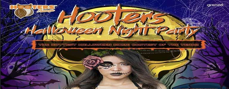 Sexy Halloween at Hooters Pattaya