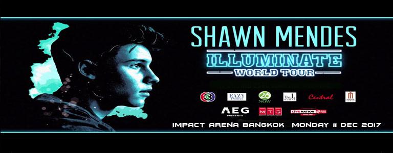 Shawn Mendes Illuminate World Tour 2017