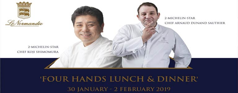 Four Hands Lunch & Dinner at Mandarin Oriental Bkk