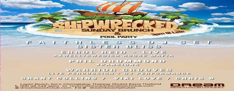 Shipwrecked Pool Party ft. F A I T H L E S S DJ Set