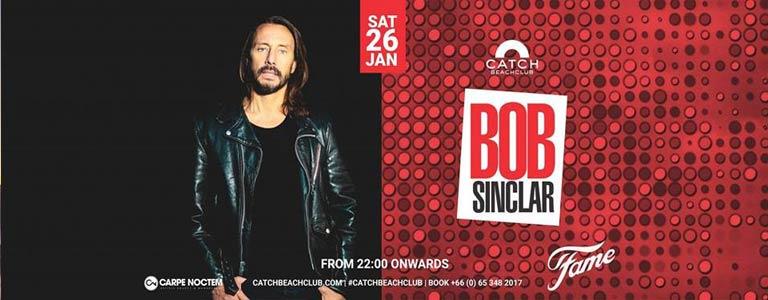 Catch Beach Club Phuket presents Bob Sinclar