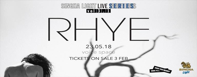 Singha Light Live Series Vol 3.1 - RHYE