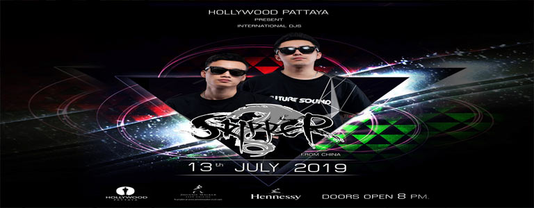 Hollywood Pattaya present SKIPPER Dj & Mc From China