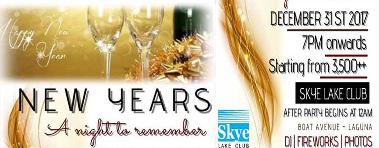 New Year Eve's Celebration at Skye Lake Club Phuket