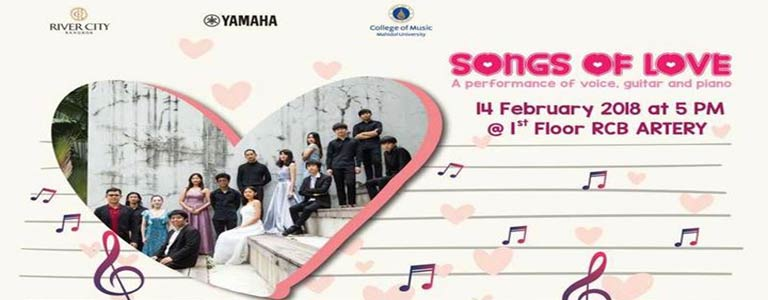 Song of Love at River City Mall
