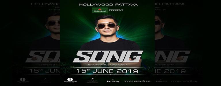 Hollywood Pattaya x Heineken present DJ SONG