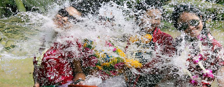 Songkran Celebrations 2019 in Koh Samui