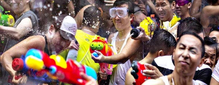 Songkran Festival Celebrations in Pattaya