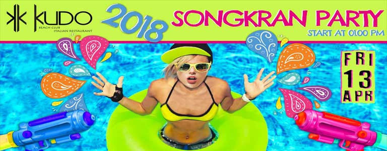 Songkran Party at KUDO Phuket