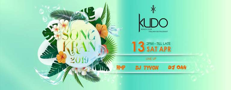 Songkran 2019 at KUDO Phuket