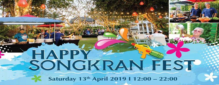 Happy Songkran Festival at XANA Phuket