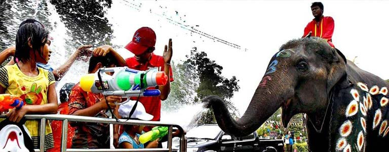 Songkran Festival Celebrations in Pattaya
