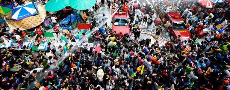 Songkran Festival Celebrations in Phuket
