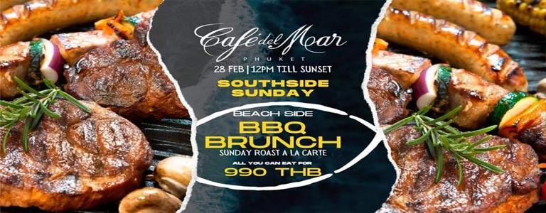 SOUTHSIDE SUNDAY at Café Del Mar Phuket
