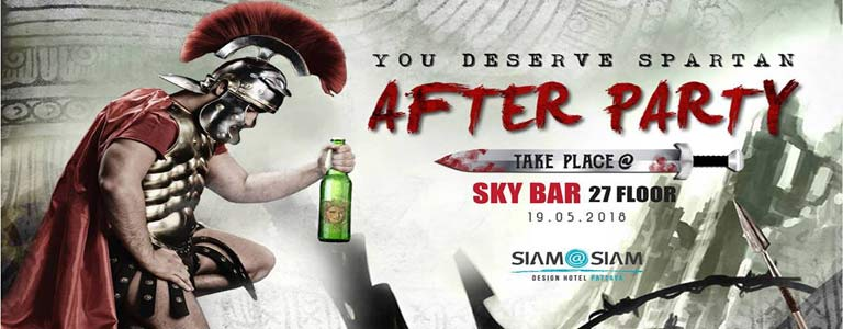 Spartan After Party at The Roof Sky Bar