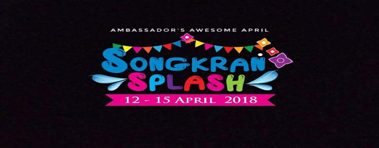 Songkran Splash at Ambassador City Jomtien