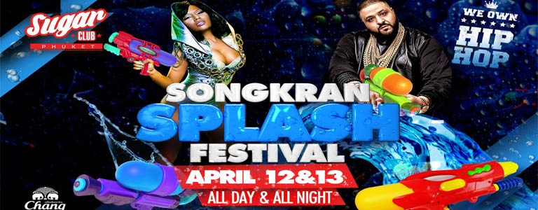 Sugar Phuket Presents: Songkran Splash Festival