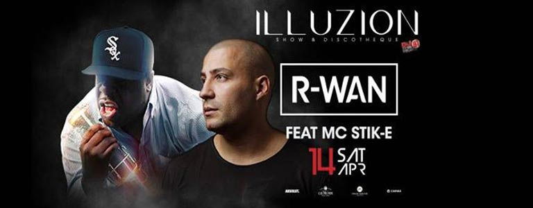 R-WAN feat MC Stik-E at Illuzion