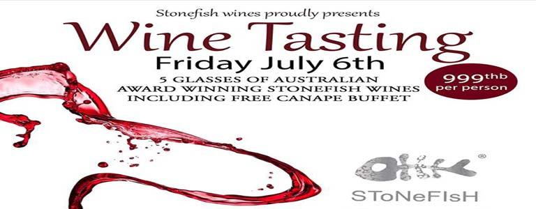 Stonefish Wine Tasting at Livv