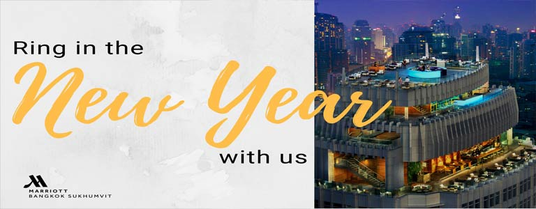 New Year's Eve at Marriott Sukhumvit 57