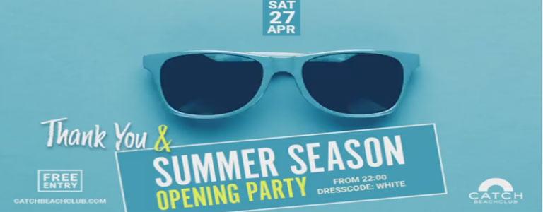 Summer Season Opening Party!