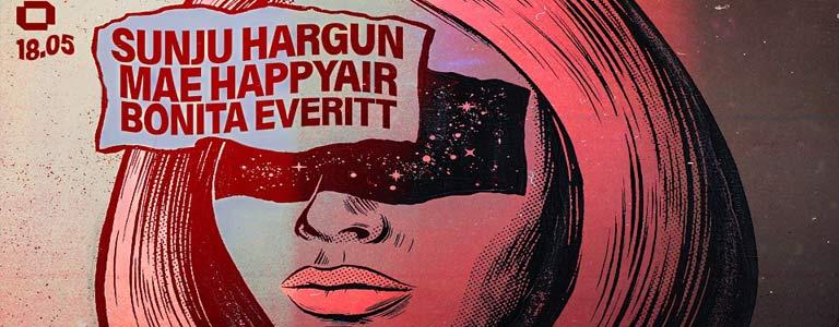 Sunju Hargun, Mae Happyair & Bonita Everitt