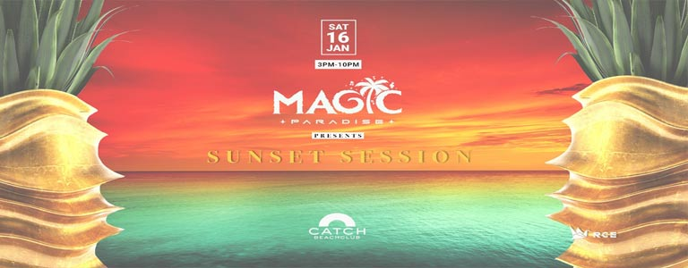 Sunset Session at Catch Beach Club