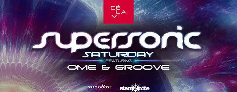 Supersonic MadStash w/ DJ Groove at CÉ La Vi Bkk