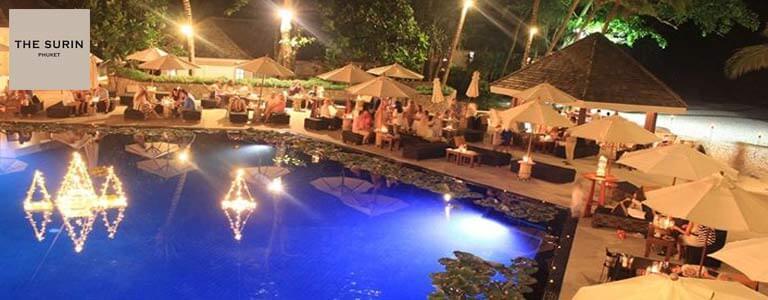 Christmas Night Buffet at The Surin Phuket