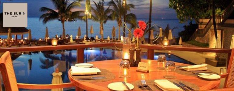 Christmas Eve dinner at Sunset Restaurant Hosted by The Surin Phuket