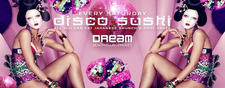 Disco Sushi at Dream Beach Club Phuket