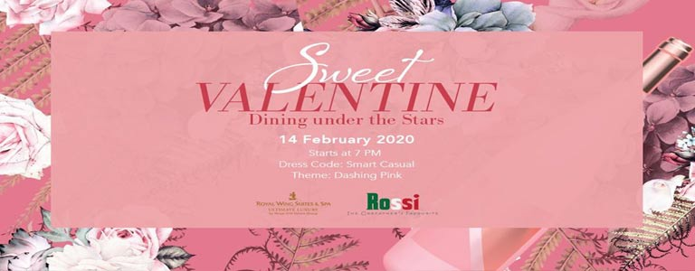 Sweet Valentine - Dining under the Stars