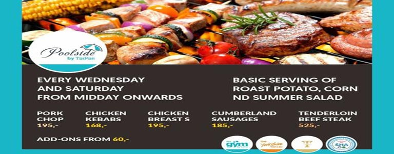 Wednesday Lunch BBQ at Poolside by TaiPan