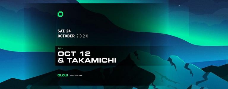 GLOW pres. Oct 12 & Takamichi