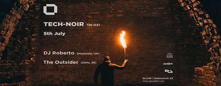 Tech-Noir with DJ Roberto at Glow