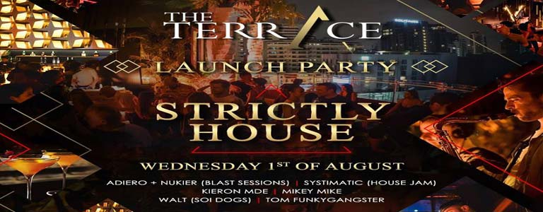 The Terrace Strictly House Line Up Launch Party