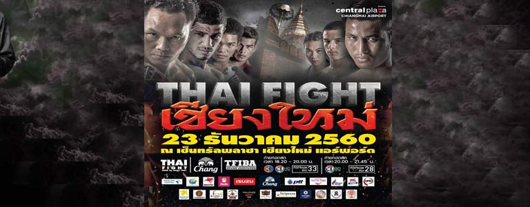 THAI FIGHT Chiang Mai Hosted by CentralPlaza Chiangmai Airport