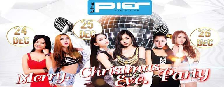 Merry Christmas Eve Party at The Pier Pattaya