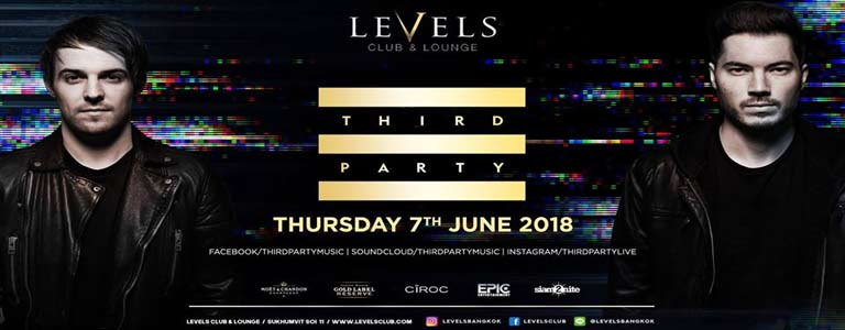 THIRD PARTY at Levels Club & Lounge Bkk