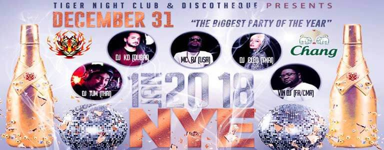 New Year's Eve at Tiger Disco Phuket