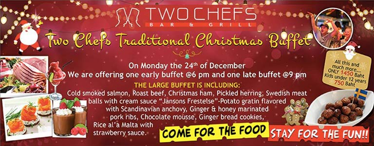 Two Chefs Traditional Christmas Buffet