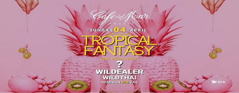 """Tropical Fantasy"" at Café Del Mar Phuket"