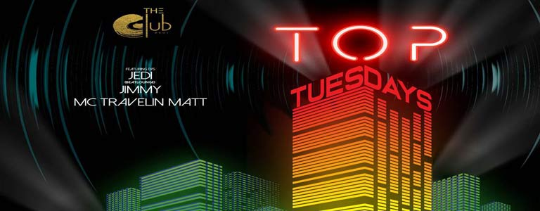 Top Tuesdays at The Club@Koi